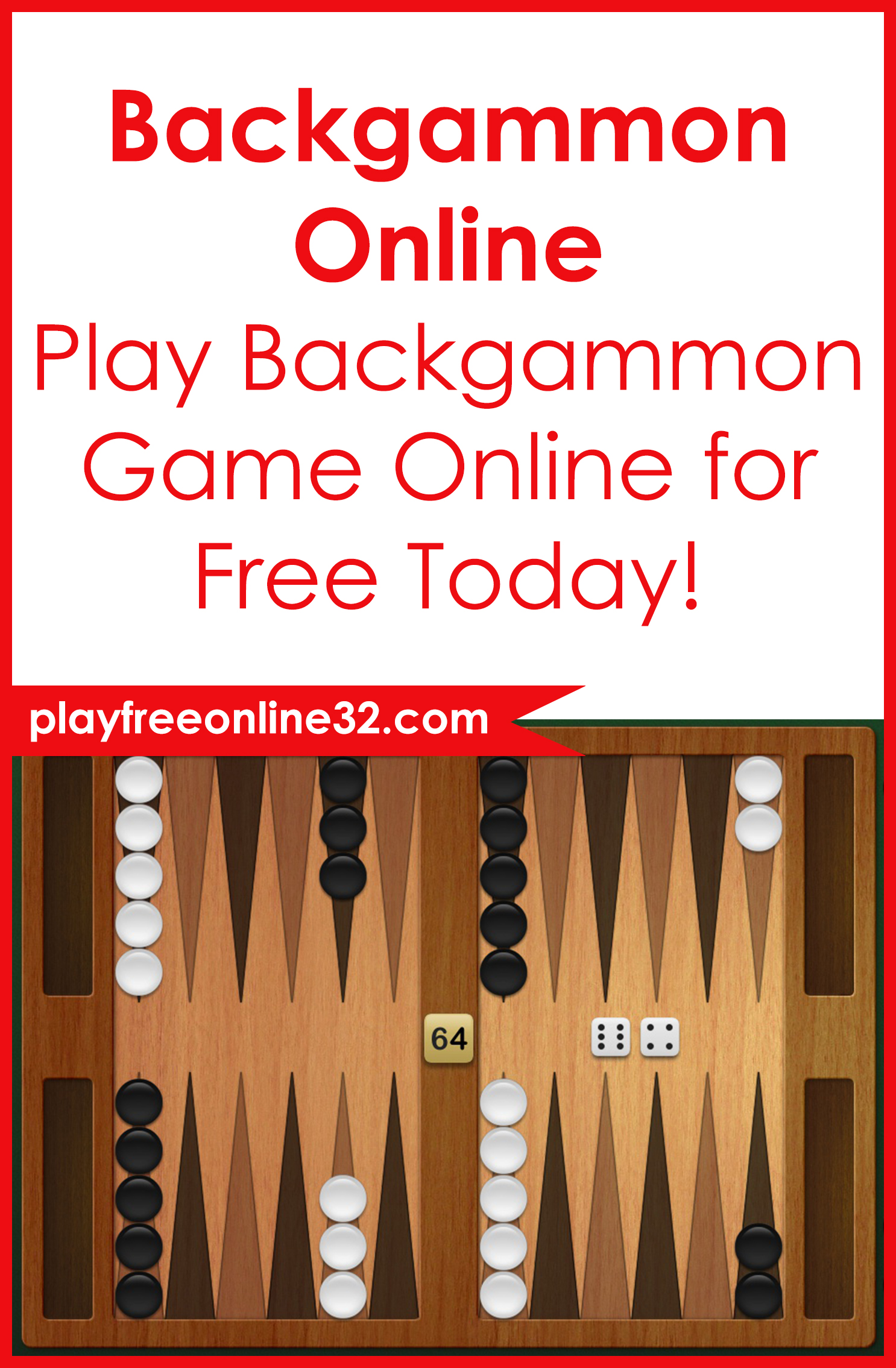 Backgammon Online • Play Backgammon Game Online for Free Today!