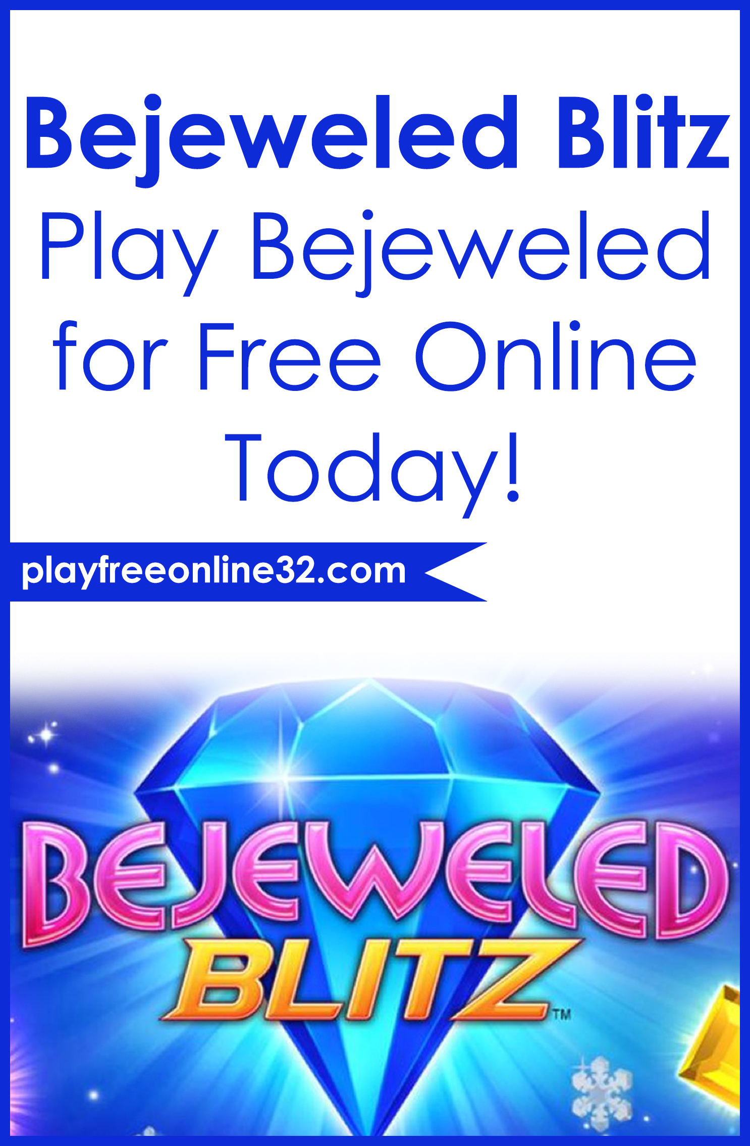 Bejeweled Blitz • Play Bejeweled for Free Online Today!