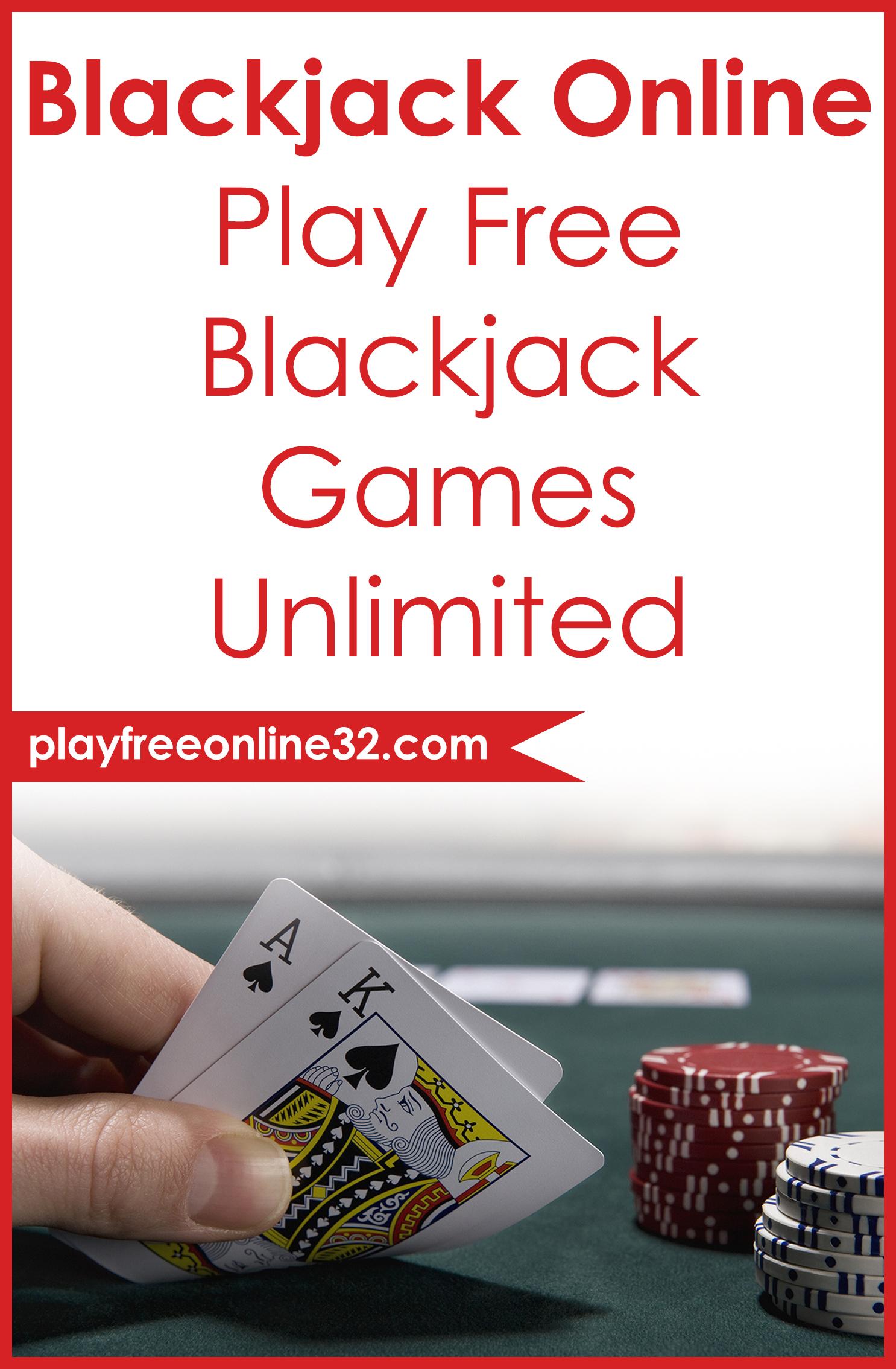 Blackjack Online • Play Free Blackjack Games Unlimited Pinterest