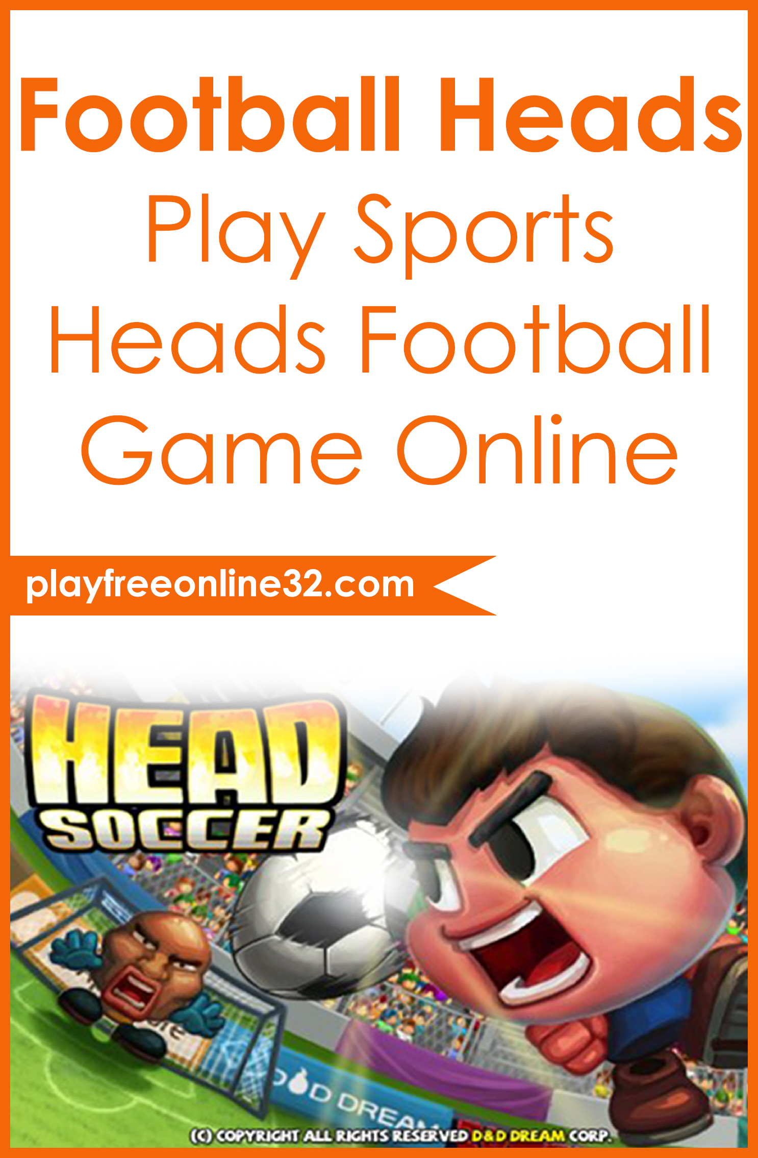 Football Heads • Play Sports Heads Football Game Online