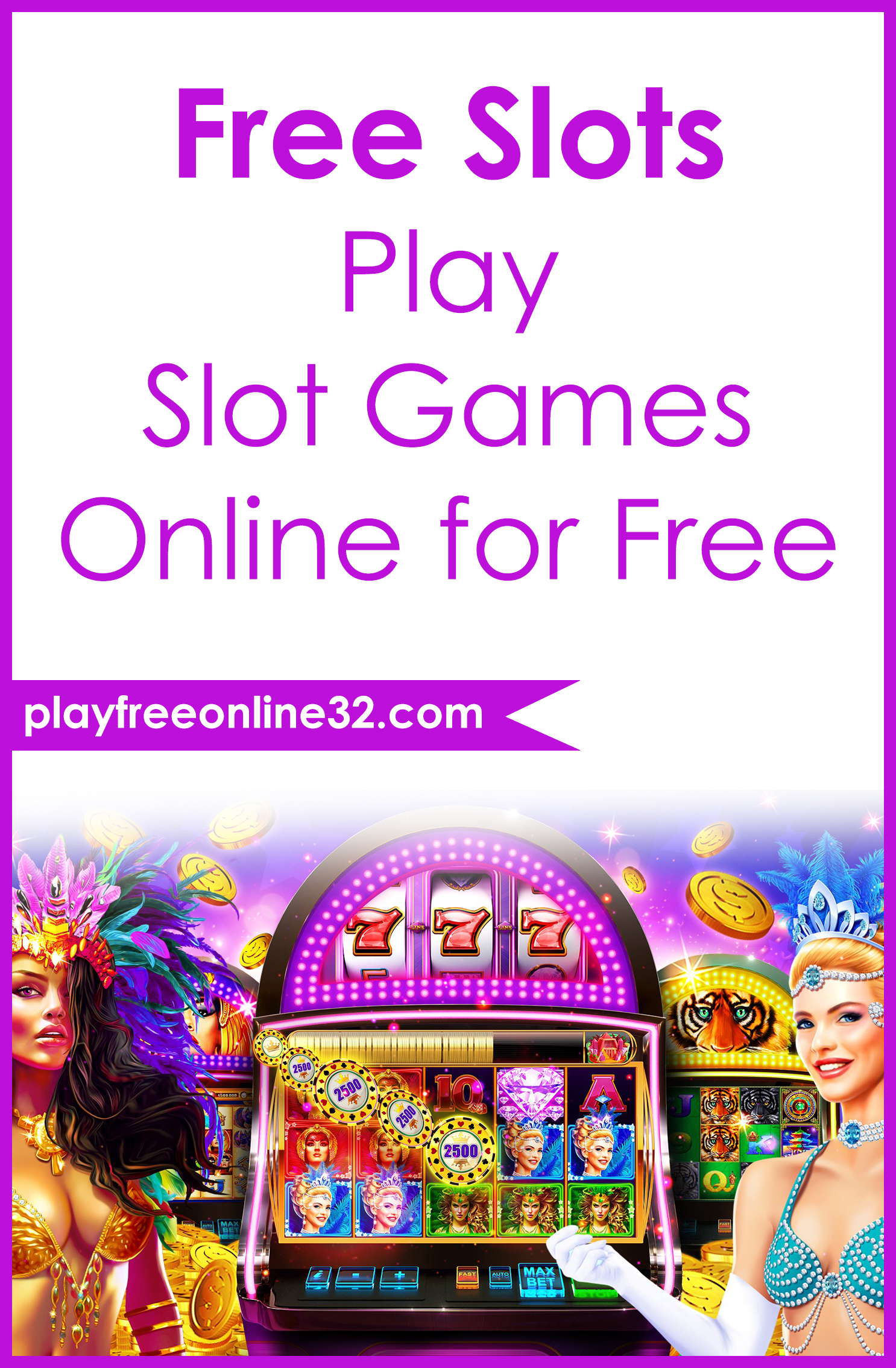 Free Slots • Play Slot Games Online for Free Pinterest