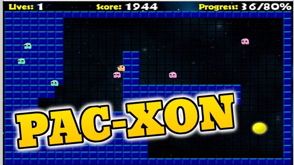 Pacxon Full Screen Game