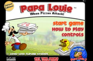Papa Louie • Play Papa Louie 1 Game Unblocked Online for Free