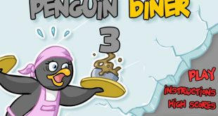 Penguin Diner 3 • Play Penguin Diner Games Unblocked for Free Online