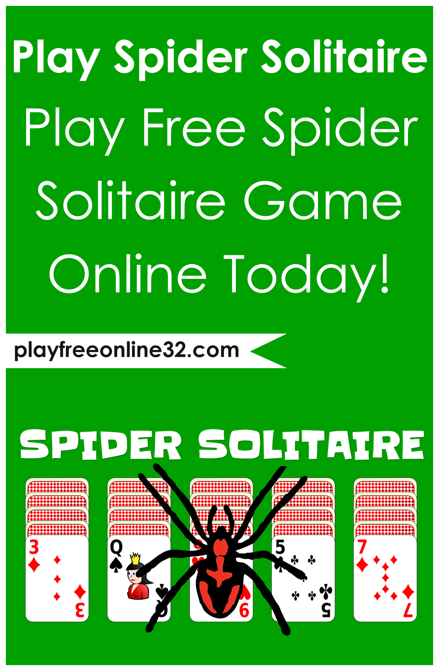 Play Spider Solitaire • Play Free Spider Solitaire Game Online Today!