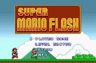 Super Mario Flash • Play Super Mario Flash Unblocked Game Online Free