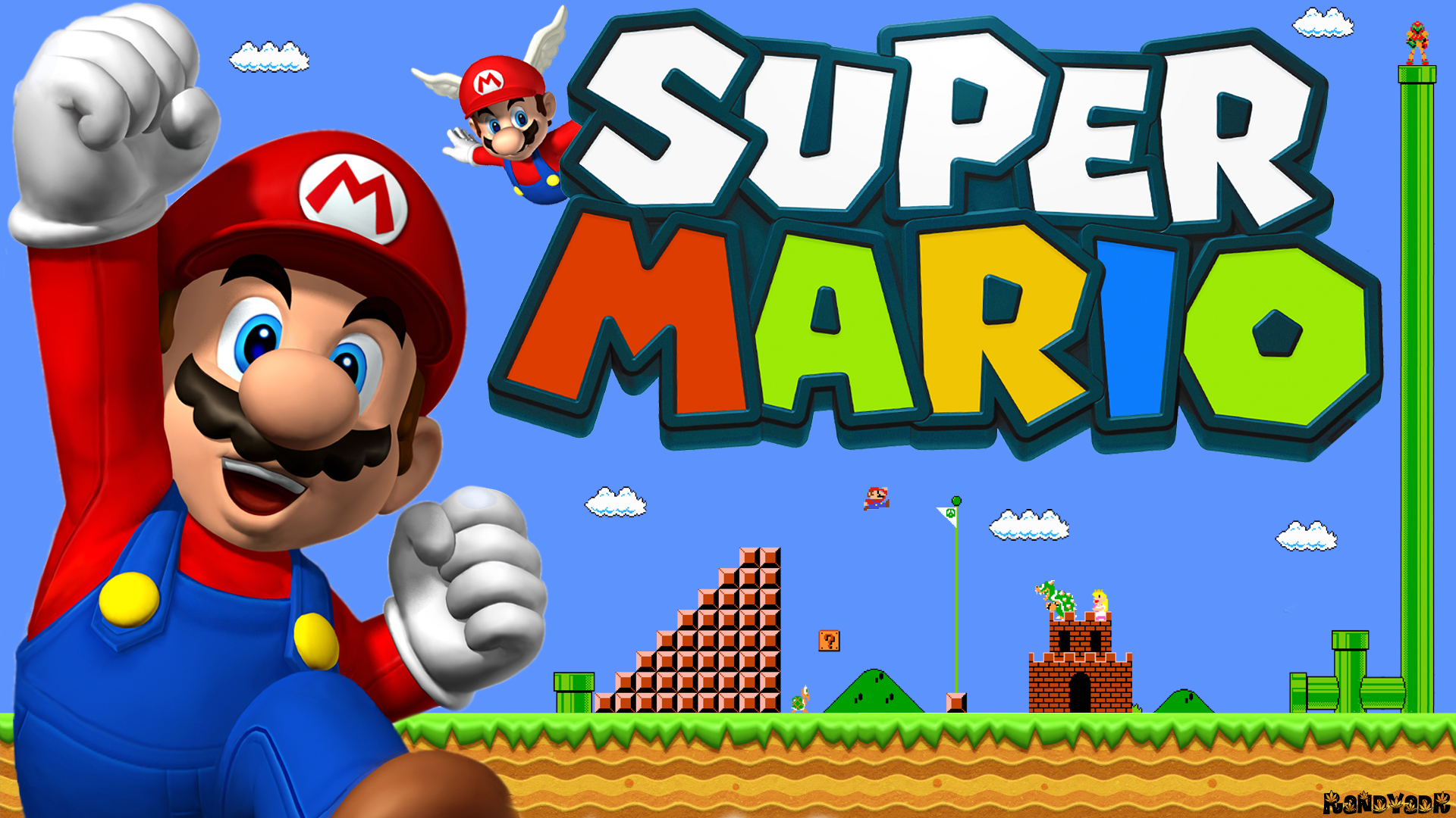Super Mario Online • Play Super Mario Bros for Free