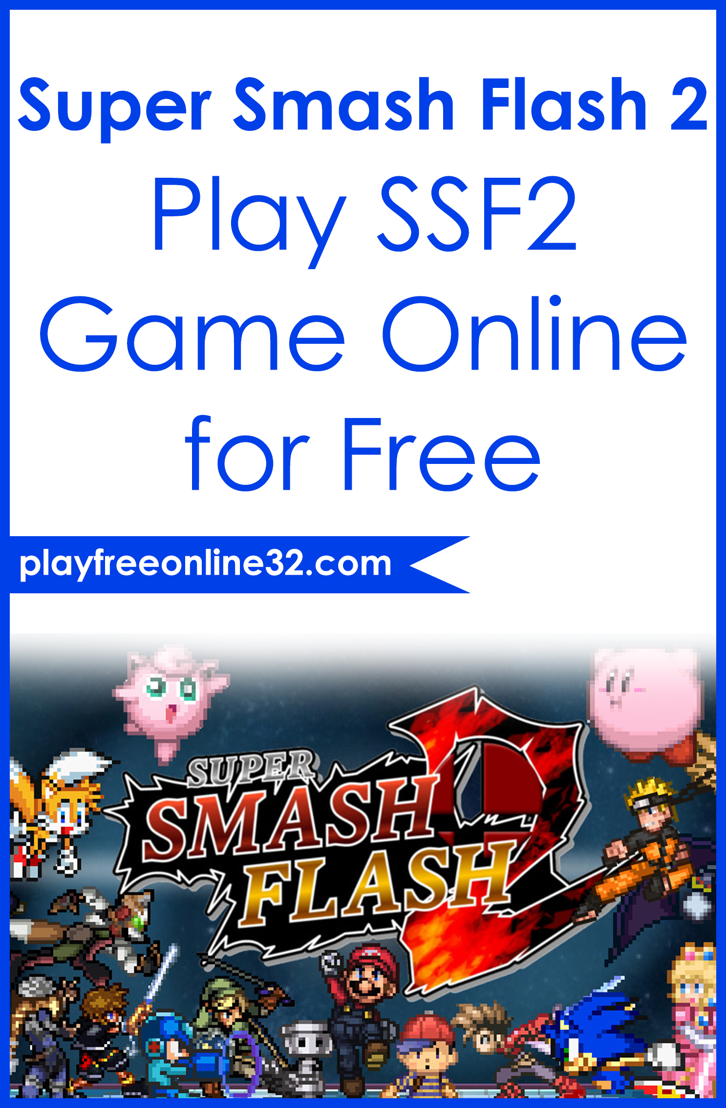 Super Smash Flash 2 • Play SSF2 Game Online for Free Pinterest