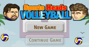 Volleyball Heads • Play Sports Heads Volleyball Unblocked Game Online