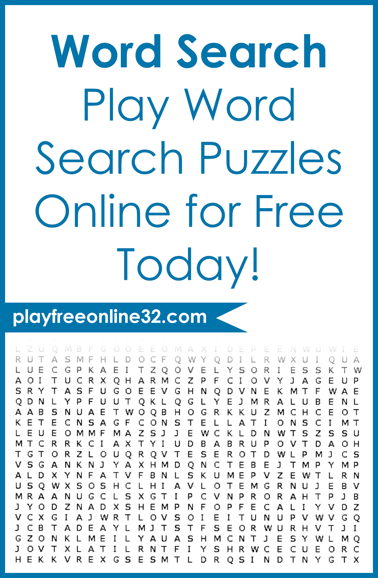 Word Search • Play Word Search Puzzles Online for Free Today!