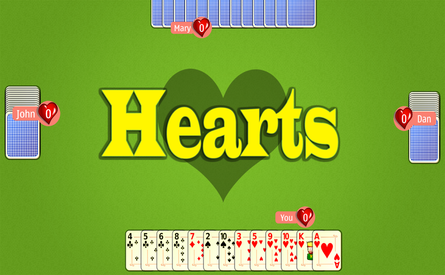hearts free online