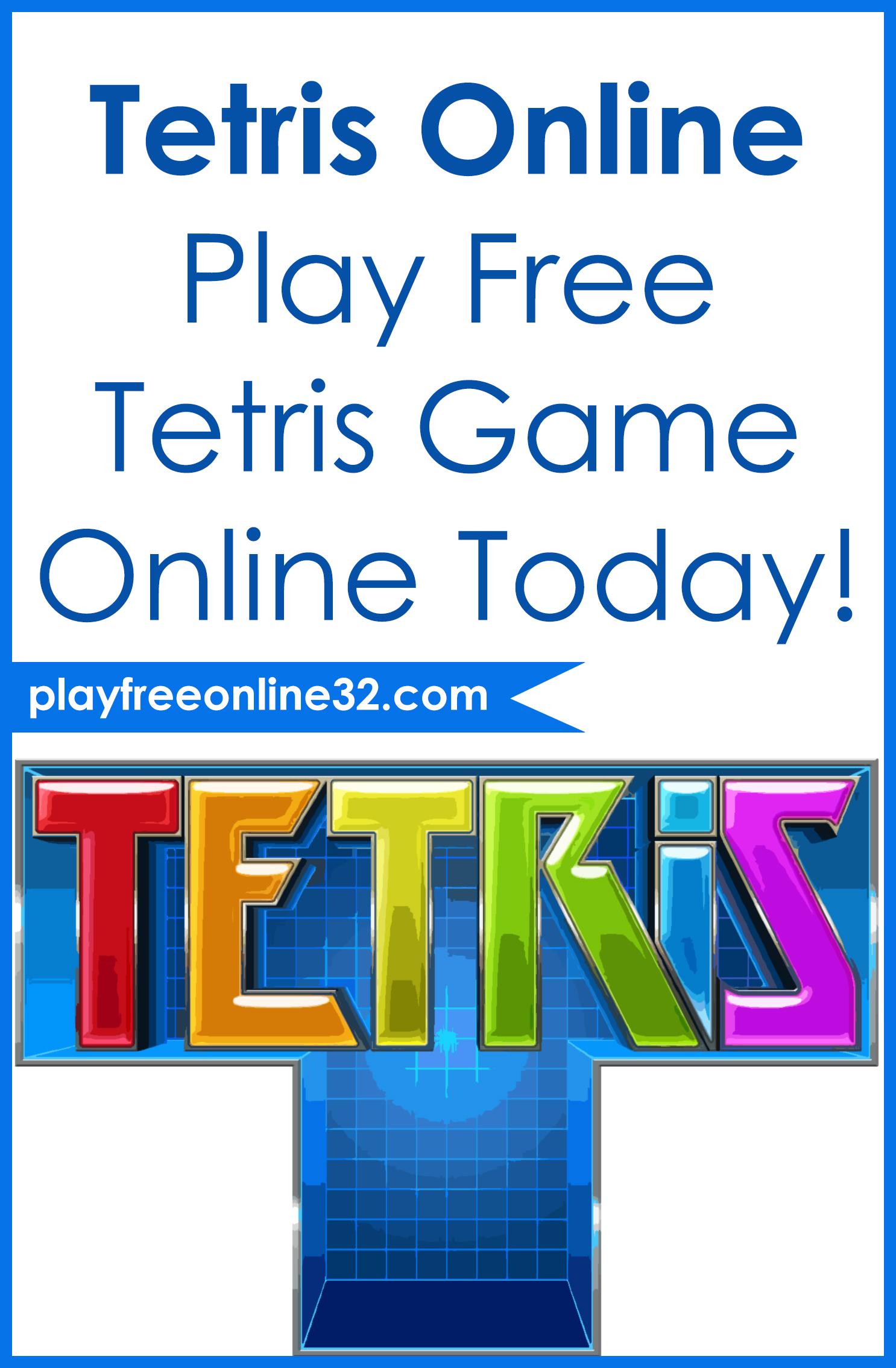 Tetris Online • Play Free Tetris Game Online Today!